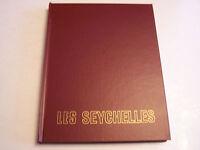 LES SEYCHELLES , TRES BEAU LIVRE EN FRANCAIS ET ENGLISH .TOME 5 . COMME NEUF .