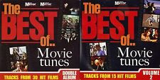 BEST OF MOVIE TUNES - 2 DISCS - MIRROR PROMO MUSIC CD