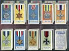 Tobacco Card Set, Amalgamated, Mills, MEDALS OF THE WORLD, 1959