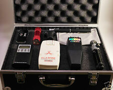 Ghost Hunt Kit - Spirit Box - Laser Pen - ELF & K2 EMF Meter - Recorder - Case +