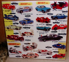 DINKY TOYS 60's 70's catalogue models depicted Limited Edition CERAMIC TILE