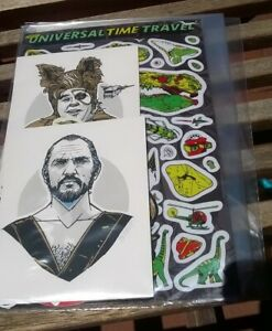 Tyler Stout Pros & Cons Sticker Pack Barf General Zod Spaceballs Superman 2019