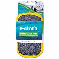 e-Cloth Washing Up Pad - Dual Sided Streak-Free Non-Scratch Cleaning with Water