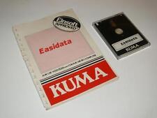 "Tatung einstein 3"" disque ~ easidata par kuma ~ disque/instruction booklet"