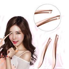 Slant Beauty Hair Removal Stainless Steel Makeup Tools Eyebrow Tweezer