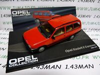 OPE37 voiture 1/43 IXO OPEL collection : KADETT E caravan break 1984/1991