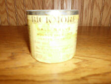 VINTAGE BICKMORE GALL SALVE MEDICINE TIN  HORSE OLD TOWN MAINE USA Veterinary