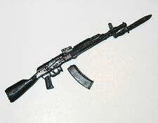 """AK-47 / 74 Assault Rifle w/ BAYONET-1:18 Scale Weapon for 3-3/4"""" Action Figures"""