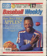 Dwight Gooden New York Yankees USA Today Baseball Weekly Feb 26 - March 3 1992