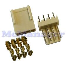 2.54mm 4 Way Molex Male Female PCB Header Terminal Housing Computer Connector