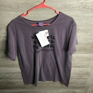 Crazy Shirts Adult Large Wine Dyed Sell For Wine T Shirt NEW