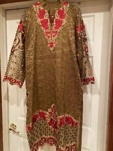 Indian/Pakistani Shalwar party Suit Bollywood Designer Embroidery Salwar Kameez