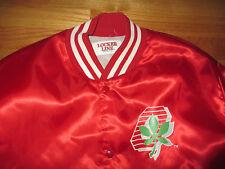 Vintage Locker Line OHIO STATE BUCKEYES Button-Down Nylon (LG) Jacket
