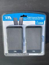 Brand New, Sealed Cyber Acoustics CA-2988 USB Powered Speaker, Portable.