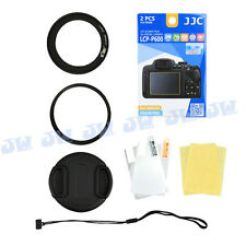 Filter Adapter Ring Kit Screen Protector for Nikon Coolpix P600 P610 P610S B700