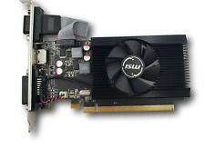 MSI Radeon R7 240 2GD3 64b LP PCIe HDMI Video Graphics Card