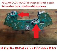 Microsoft Xbox One & elite Controller Thumbstick Switch REPAIR SERVICES