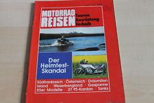 151724) Suzuki GSX 400 E - Yamaha XJ 750 - Motorrad Reisen 05/1984