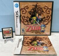 The Legend of Zelda: Phantom Hourglass (Nintendo DS, 2007) with Manual - Tested