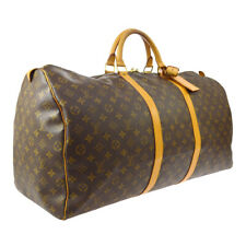 LOUIS VUITTON KEEPALL 60 TRAVEL HAND BAG SP0957 PURSE MONOGRAM M41422 A52792