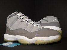 2001 Nike Air Jordan XI 11 Retro COOL GREY WHITE BLACK PATENT 136046-011 12