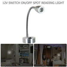 12V LED Spot Reading Light Switch Camper Van Caravan VAN Boat Motorhome Light UK