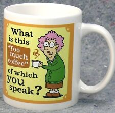 Aunty Acid Coffee Mug What is This Too Much Tea Cup Leanin Tree Backland Studio