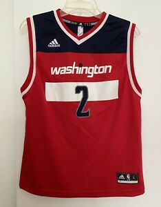 JOHN WALL Basketball JERSEY WASHINGTON WIZARDS Adidas Youth Size L