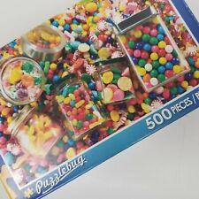 Puzzlebug Candies Galore  Puzzle 500 Pieces  18.25 X 11 New  #5500