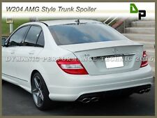 #650 White AMG Style Trunk Spoiler For Merecedes-BENZ W204 C-Class Sedan 08-14