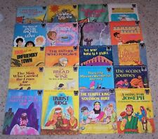 Huge Vintage Lot of Children's Arch Religious Christian Picture Bible Stories