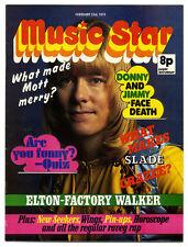 MUSIC STAR Magazine 23 February 1974 Sweet David Bowie Queen Paul McCartney
