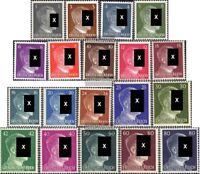 Deutsches Reich 781-798 (kompl.Ausg.) postfrisch 1941 Freimarken