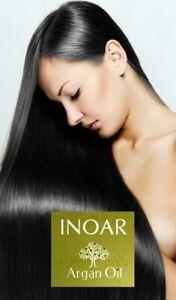 NOUVELLE FORMULE Lissage brésilien INOAR ARGAN Sans formol+Shampoing *OFFERT*