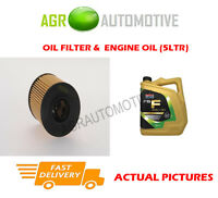 DIESEL OIL FILTER + FS F 5W30 ENGINE OIL FOR FORD S-MAX 2.2 175BHP 2008-12