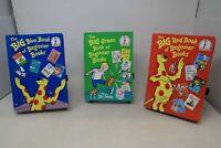 Lot of 3 Dr. Seuss Big Book of Beginner Books -  Hardcover