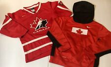 Authentic Nike Team Canada Childs Sz.6X And Nike Hoodie Sz.6