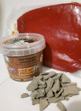 moroccan hammam kit black soap beldi noir 300 gr , keesa, 100 gr ghassoul clay