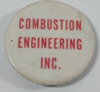Vintage Combustion Engineering Inc Pinback Button