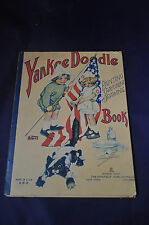 1918 *RARE* Yankee Doodle Painting Crayoning and Drawing Book by Saalfield