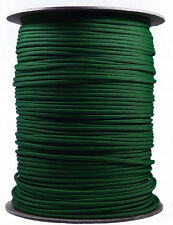 Neon Green and Black Stripes - 550 Paracord Rope 7 strand Cord - 1000 Foot Spool
