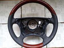 1 Mercedes E G klasse CLK  holz holzlenkrad w210 w463 NEU  Lenkrad w208 mopf