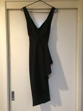Blossom Ladies Black Long Formal Dress Size 8 Good Condition