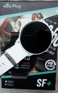 Sports Smart Watch,Round Face, Men, Women, Fitness Tracker,BP. Steps, Oxygen.
