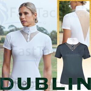 LACE SHOW SHIRT | Dublin Ladies Tara Competition Shirt | BREATHABLE SLIM FIT