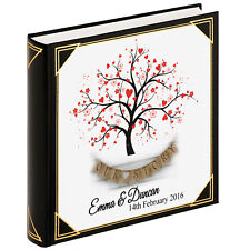 Personalised large photo album, guestbook, photobook, Valentine engagement gift
