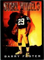 1993 Skybox Football Premium Poster Cards #CB3 Barry Foster Steelers