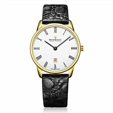 Dreyfuss & Co DGS00136-01 Men's Gold Tone Wristwatch