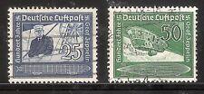 Deutsches Reich gebruikt nr. 669/670