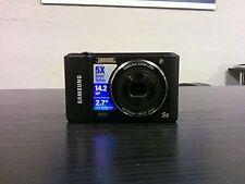Samsung ES91 14.2 MP Digital Camera - Black (EC-ES91ZZDPBZA) FOR PARTS OR REPAIR